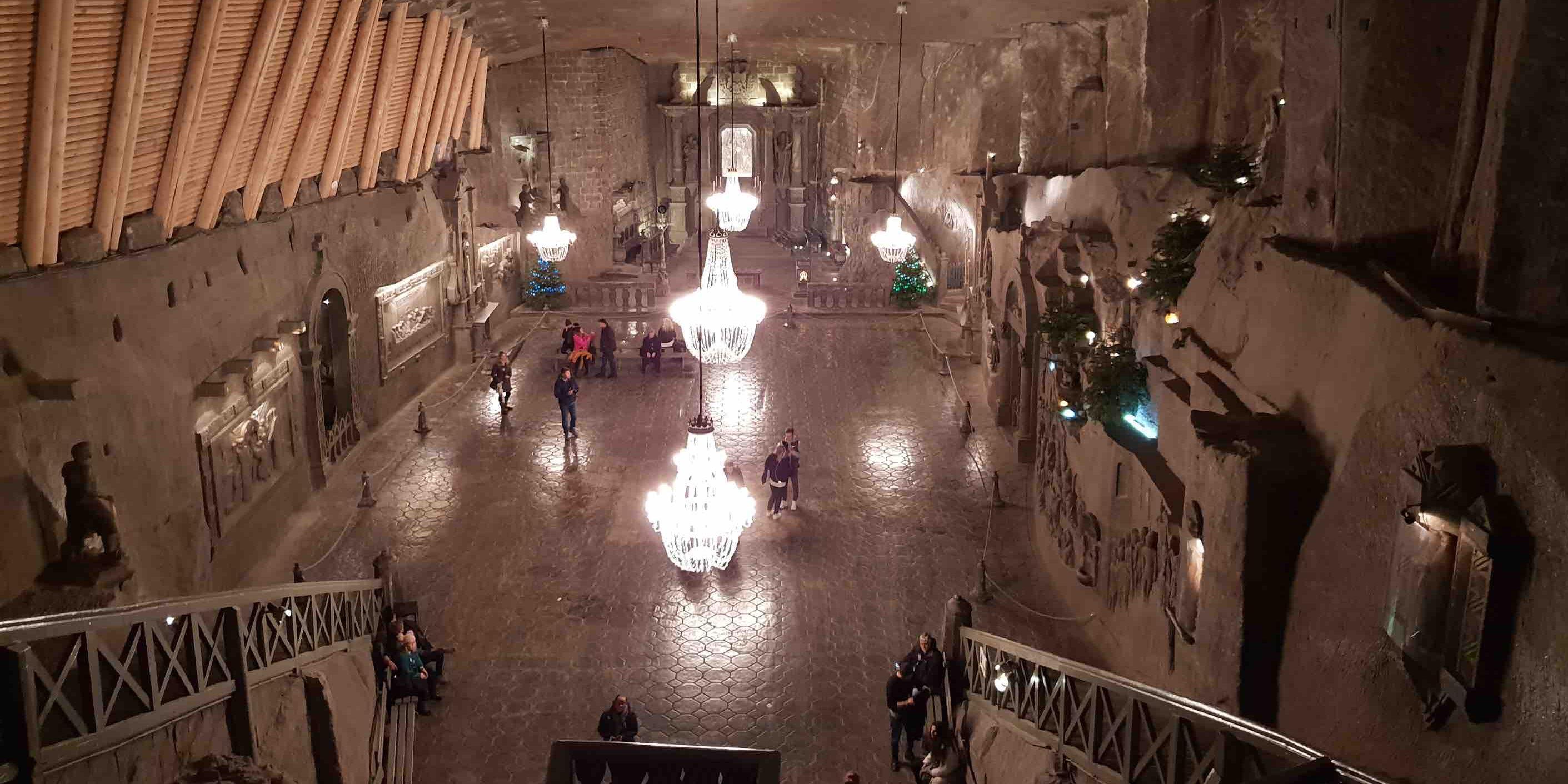 underground salt cave
